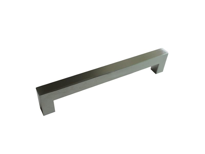 不锈钢大门拉手 固力信五金厂物超所值的G-001焊直角拉手出售