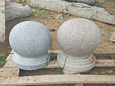 石雕挡路石