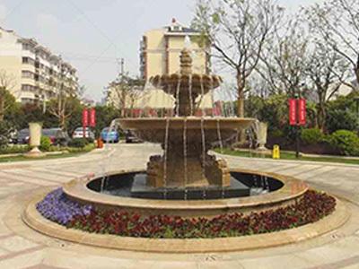 石雕庭院喷泉