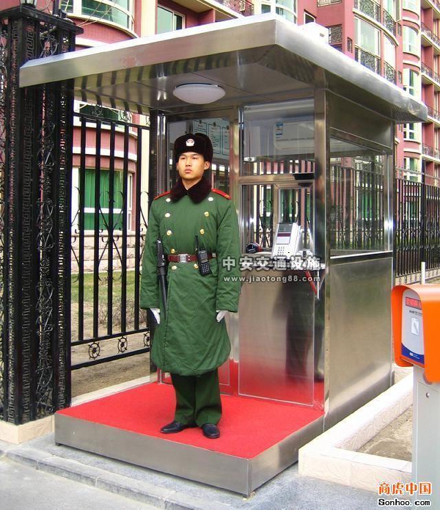 河南专业的不锈钢岗亭厂商推荐 焦作不锈钢岗亭