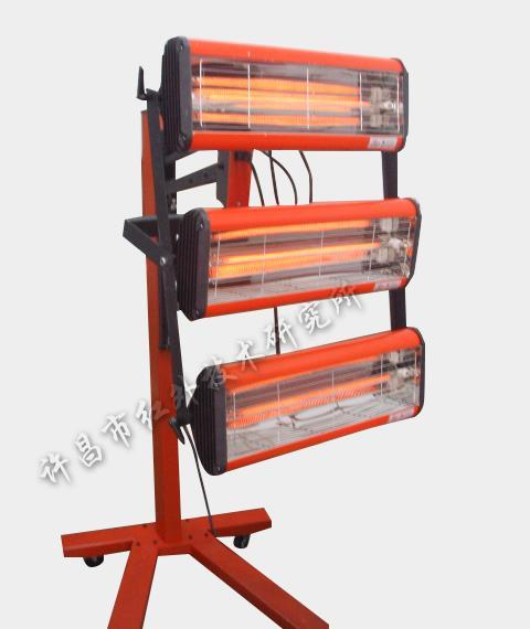 单/多模块红外移动式烤漆机