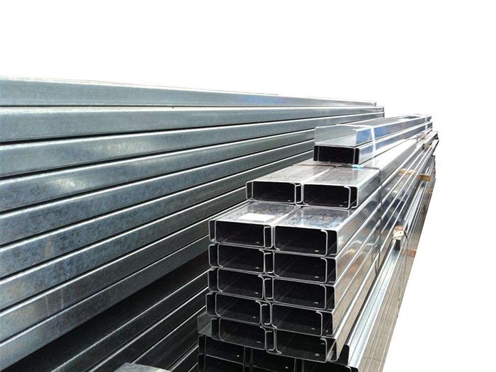 钢结构厂房建筑用料 C型钢檩条 抗压承重力强