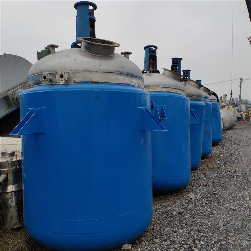 奥达设备有限公司,知名的二手反应釜供应商|二手3吨内盘管反应釜