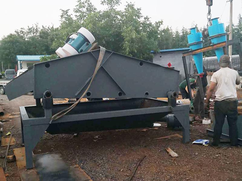 细沙回收机生产的五个步骤及厂家售后服务