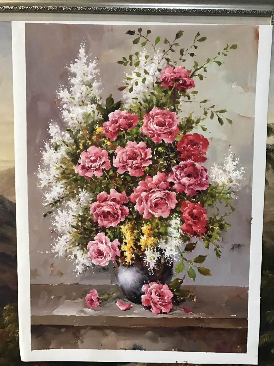 油画花卉选购选哪家厦门|新品花卉油画推荐