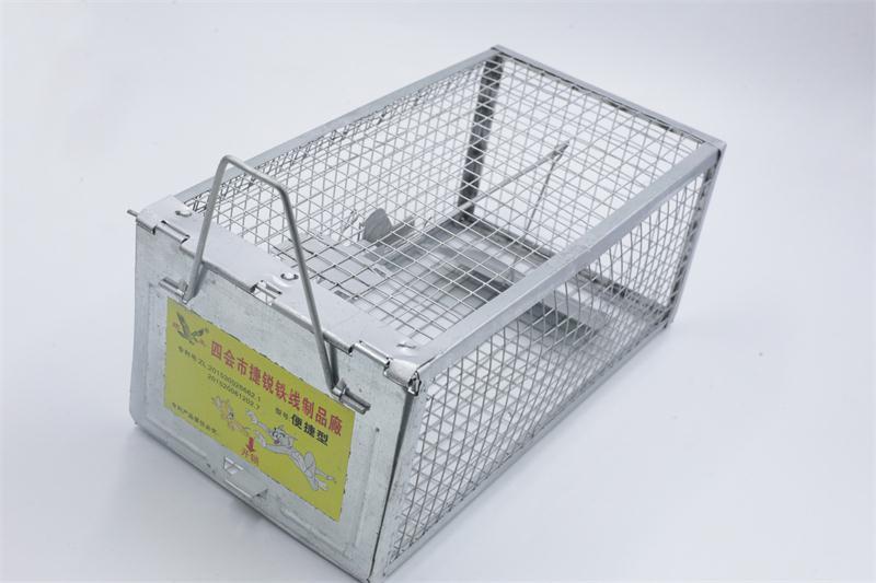 灭鼠的办法 捷锐铁线制品便捷型捕鼠器厂家