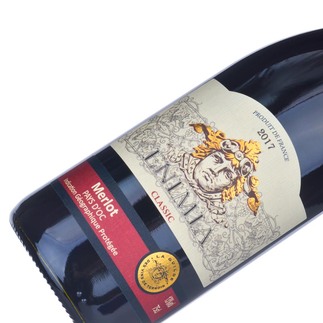 法国依米尼亚经典干红葡萄酒2017