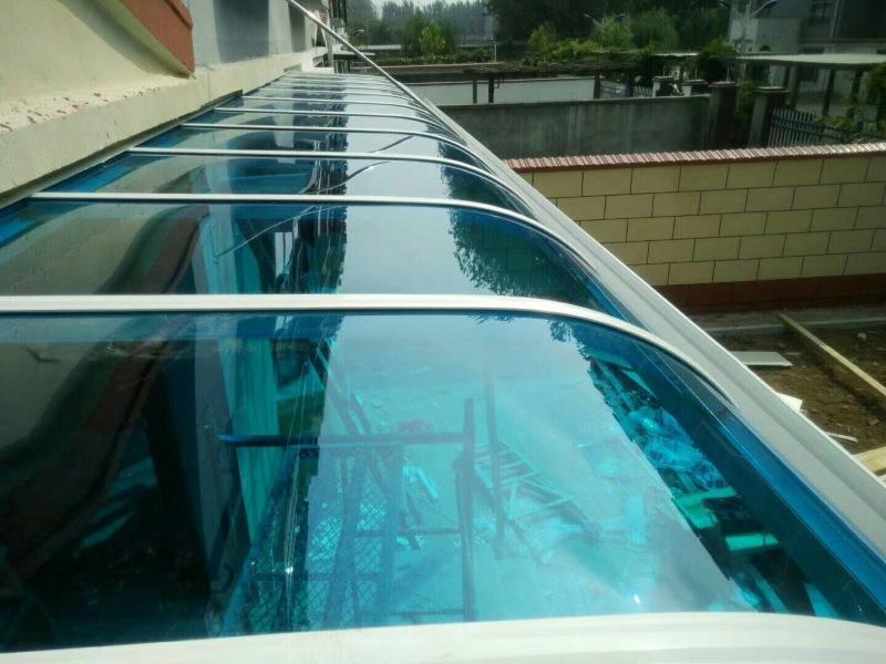 河南耐力板车棚