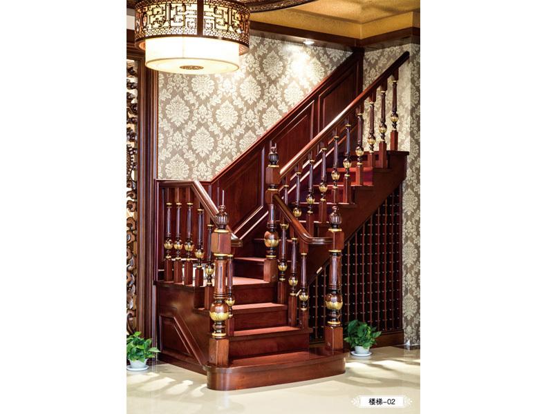 紫檀木楼梯