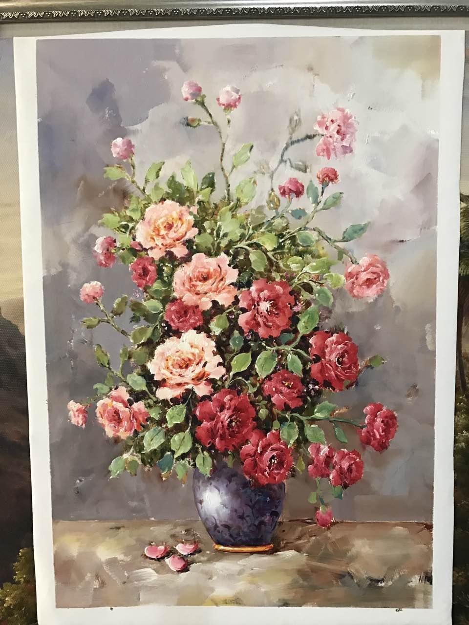 精美的花卉油画在哪里买