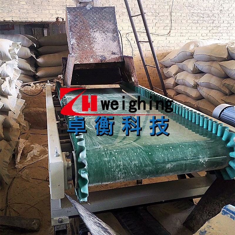 五常稻壳加工定量给料TSC40-1型粮食流量秤