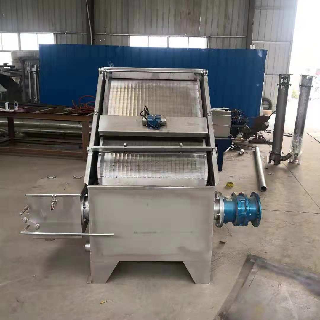 黑龙江干湿分离机,供应河南价位合理的斜筛式干湿分离机