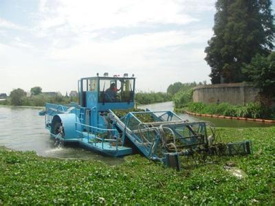 瀚洁环保提供优良的水葫芦打捞船,水葫芦打捞船多少钱
