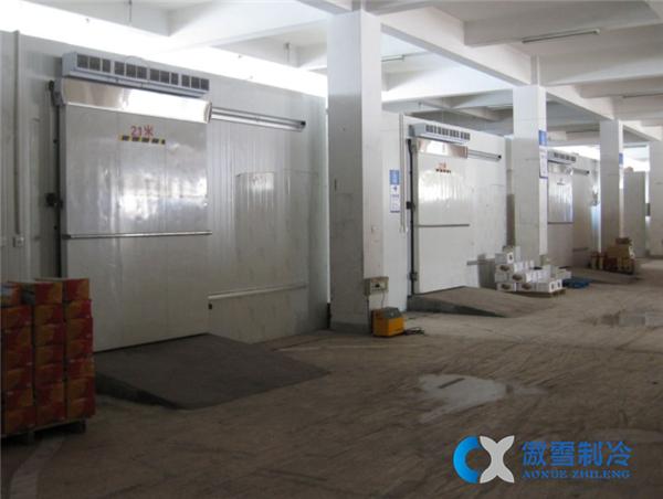食品厂低温冷库工程