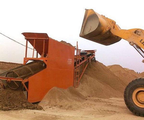 旱地洗石设备