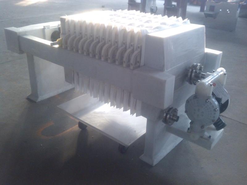 防腐外包聚丙烯压滤机