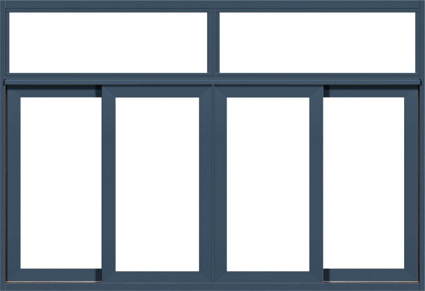 80系列(非)断桥推拉窗