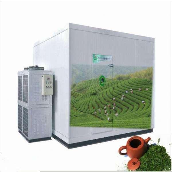 茶叶成地方致富产业 茶叶保鲜冷库打造品质茶