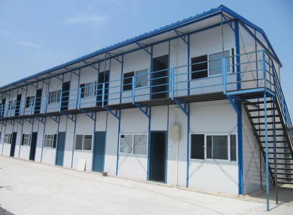 河南彩钢活动房厂:彩钢活动房的优点优势
