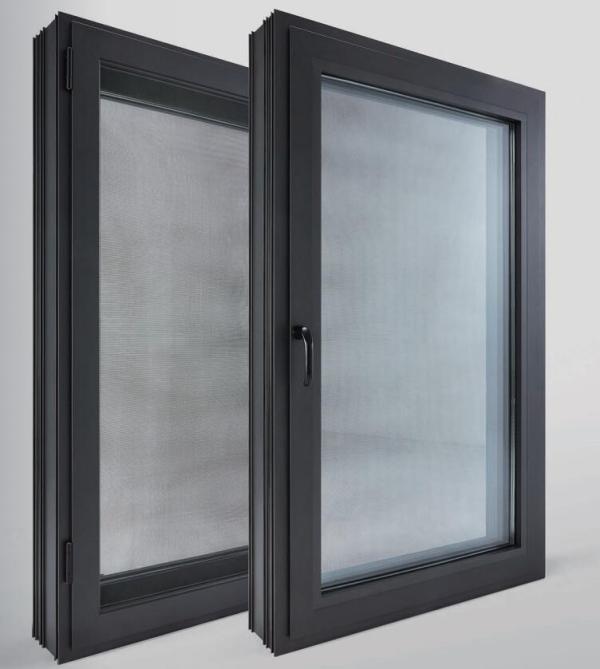 金刚纱网一体窗