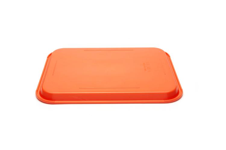 悦风顺金属制品厂_有信誉度的小号托盘yuefs003桔红供应商-供应塑料托盘