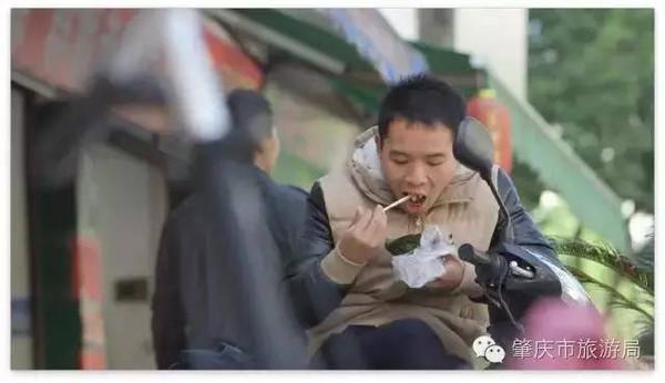 肇庆山泉水粽香糯美味