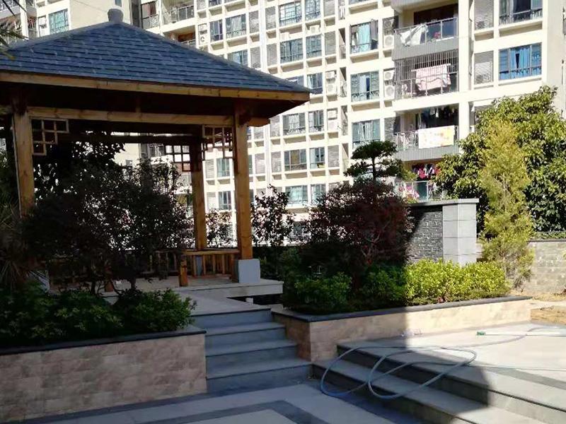天台花园设计施工技术哪家好|鱼池沙缸过滤器