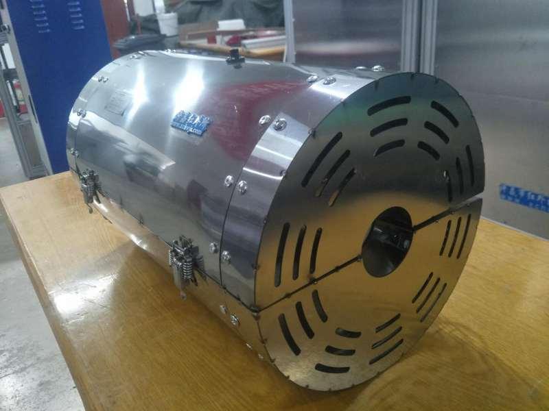 红外辐射管道加热器