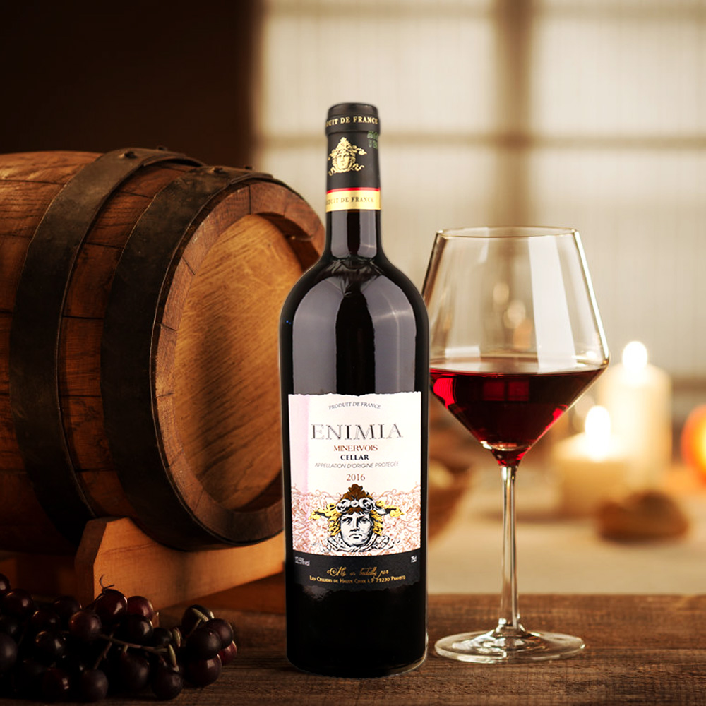 法国依米尼亚窖藏干红葡萄酒2017