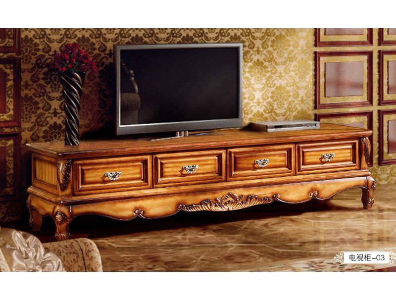 复古实木电视柜
