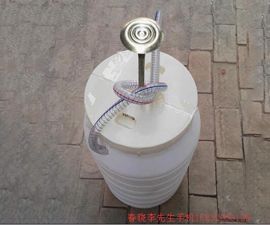脚踏式高压冲厕器
