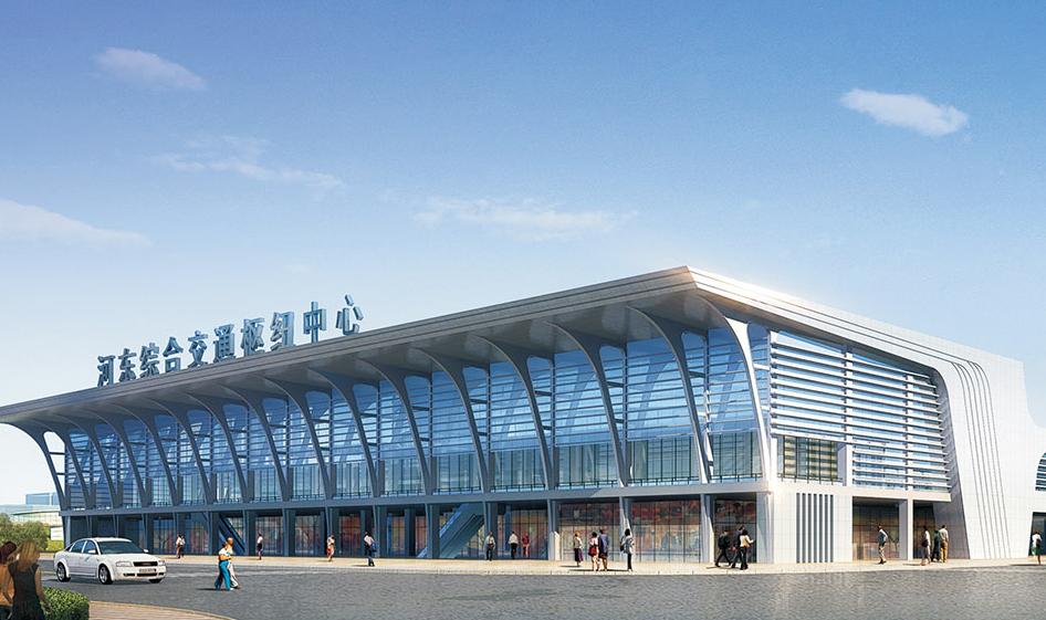 广西柳州市河东综合交通枢纽中心