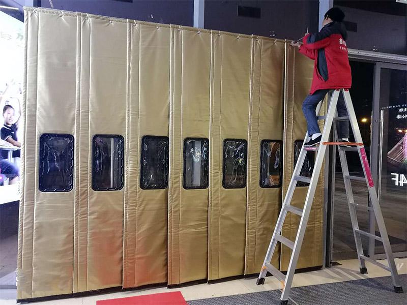 厂家直供保温棉门帘供应厂家-南京高质量的棉门帘批发