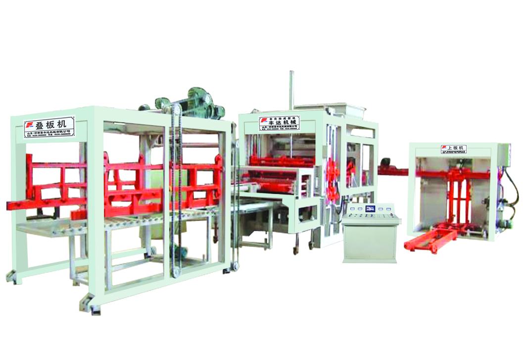 丰达机械QTY5-15型全自动砌块成型机制作商 成都空心砖机