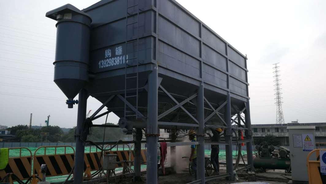 小型水泥仓怎么无污染的使用?