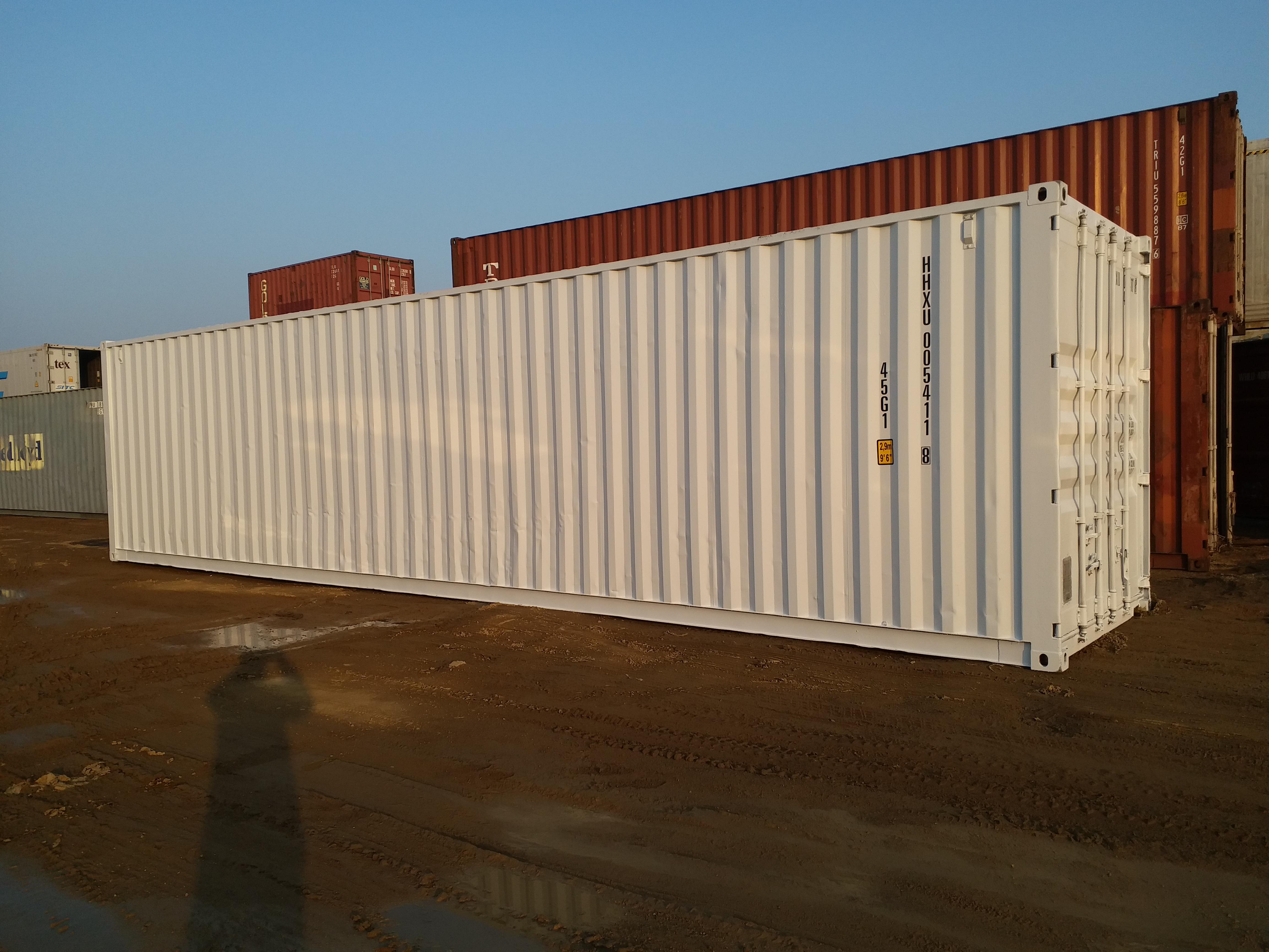 关于集装箱产品发货说明