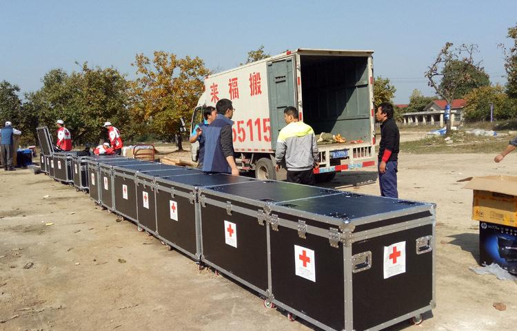 红十字会搬运服务案例