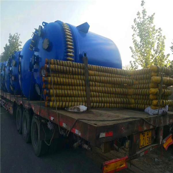 二手1000升不銹鋼反應釜 濟寧專業的二手搪瓷反應釜