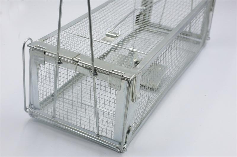 肇慶哪里有供應雙門手可折型老鼠籠 捕鼠夾批發價格