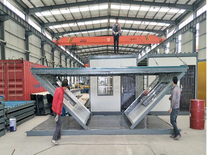 折叠式集装箱活动房 按需求定制加工