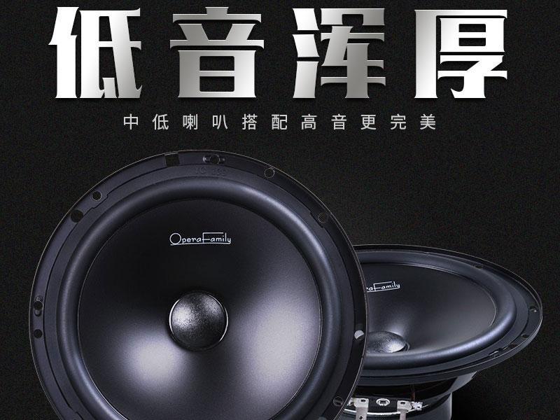 汽車音響套裝價格_新款F-20喇叭兩分頻套裝市場價格