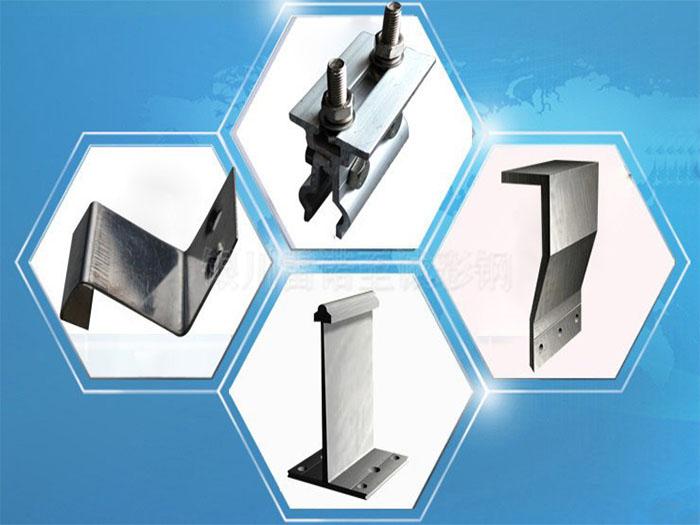 铝镁锰支座 T型铝合金支架 铝镁锰板固定扣件