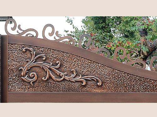 广东划算的铜门哪里有供应——佛山定制别墅铜门厂
