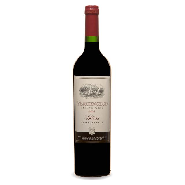 南非好望莉西拉葡萄酒2006 YEAR