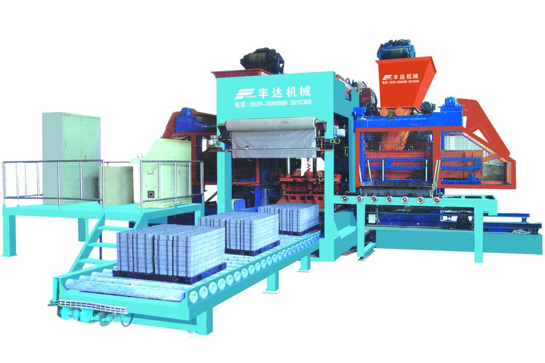邯郸水泥砖机_山东质量好的MTB18-15型免托板全自动生产线供应