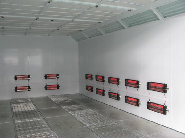 红外汽车烤漆房