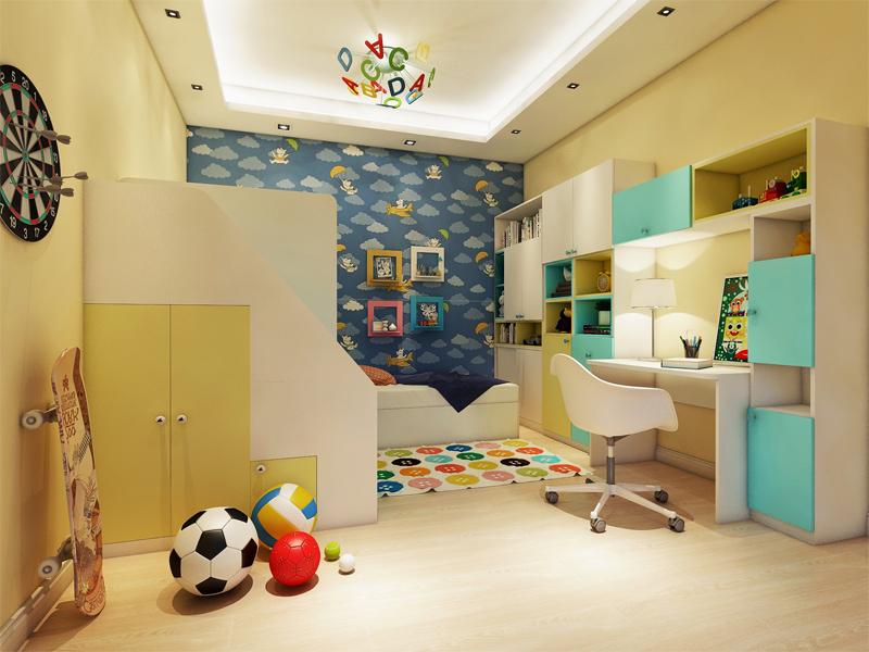 全屋定制家具厂分享儿童房的全屋定制要注意什么?