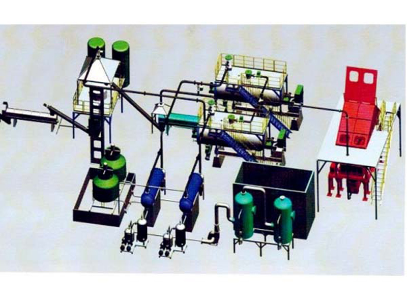 干化系统工艺流程