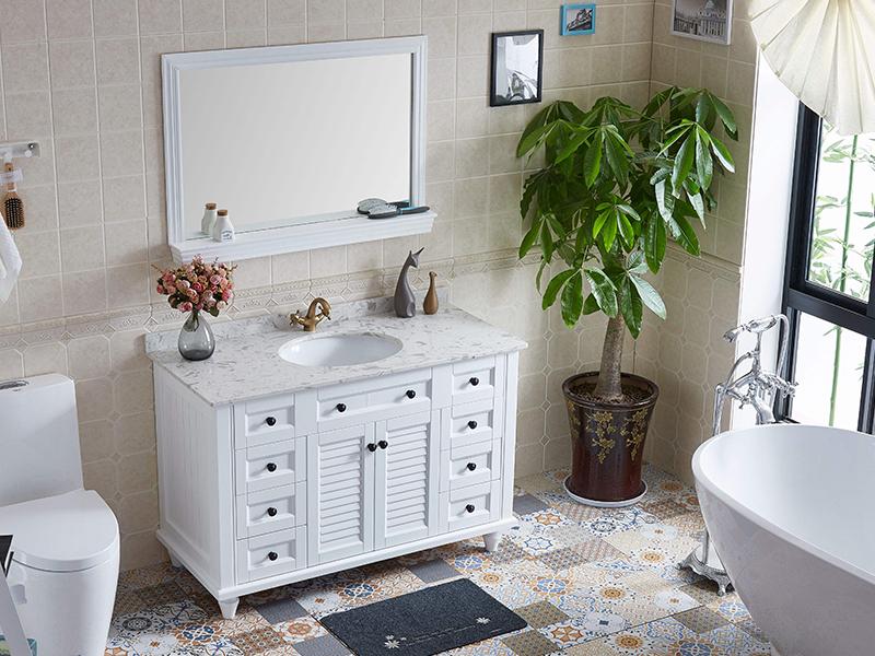 """浴室""""柜""""在收纳 6招搞定卫浴间整洁"""