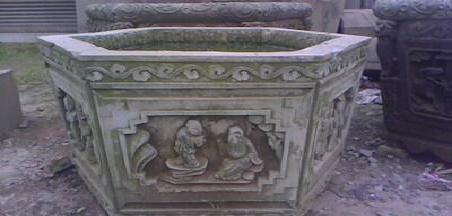 石雕仿古鱼缸的地点布置及相关知识介绍